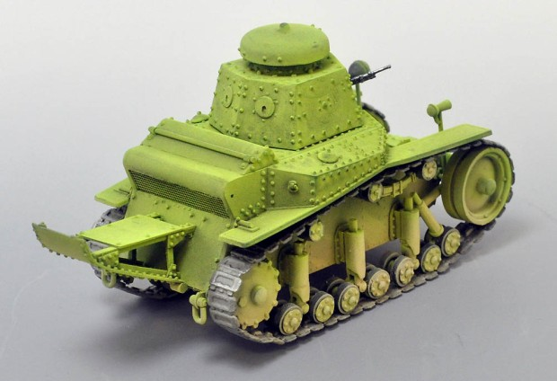 【Mズ展 2014】 MS2(T-18)軽戦車 ~ 1次5ヵ年計画の本格的量産車 (いけみやあらた)の画像