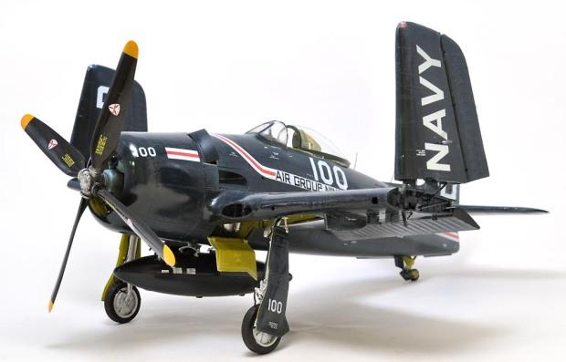 翼を畳んだ熊猫 ~ F8F-1 ベアキャット (おかやまん)の画像