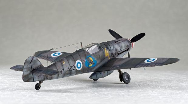 メッサーシュミット Bf109G-6 第31戦闘機隊 MT452 1948年 夏 (Na.k.) ~ Messerschmitt Bf109G-6 MT452 HLeLv31,1948 Summer (Na.K.)の画像